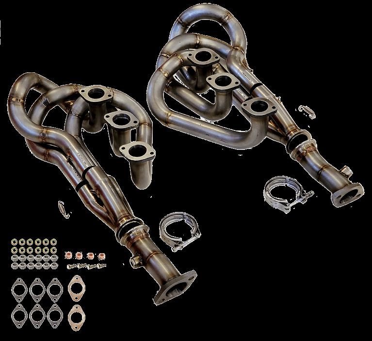 Stainless Steel 1 5/8`` Bursch Header Set, 911